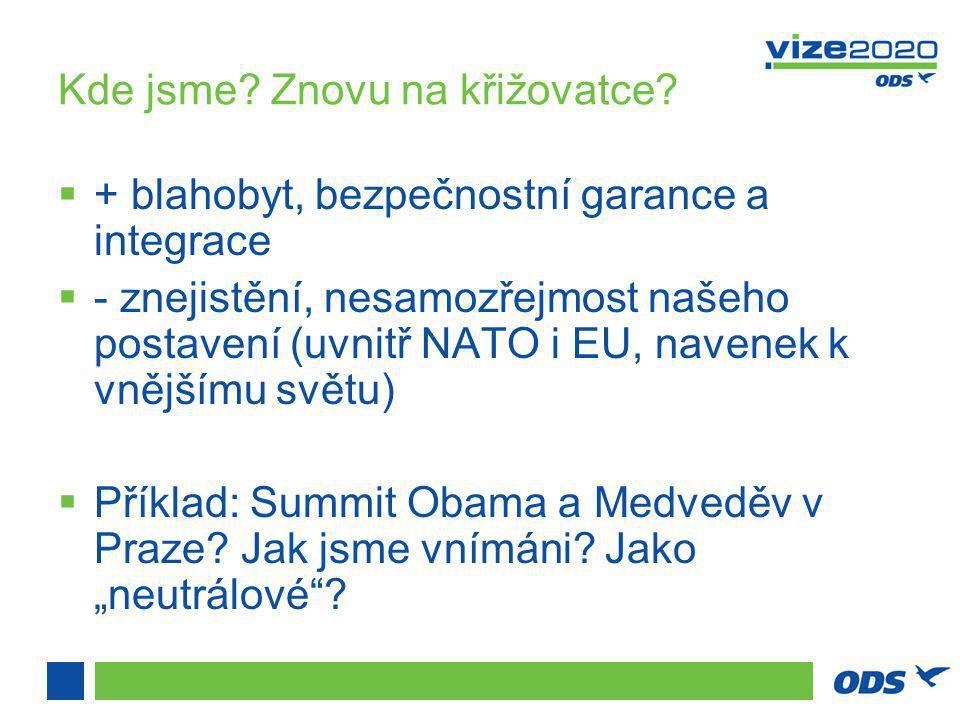 """Výzvy v NATO - důvěryhodnost  """"Out of area vs."""