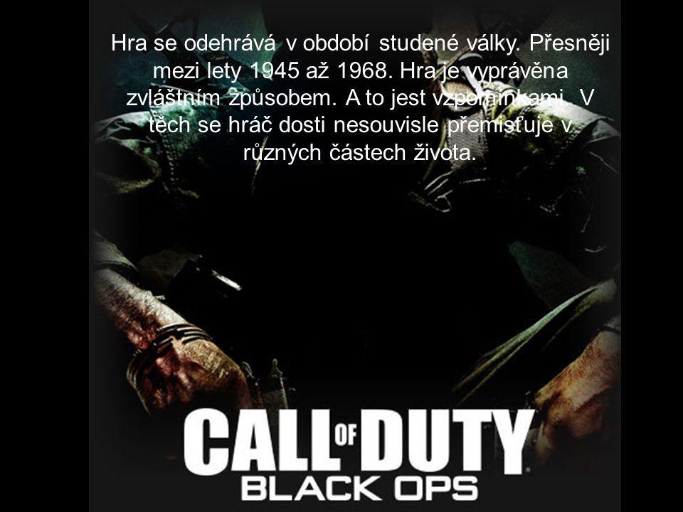 Hra se odehrává v období studené války. Přesněji mezi lety 1945 až 1968.