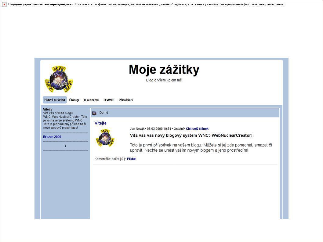 Tomáš Dlouhý – prezentace Y13ANW - http://www.tdsystems.okamzite.eu Co je WNC II