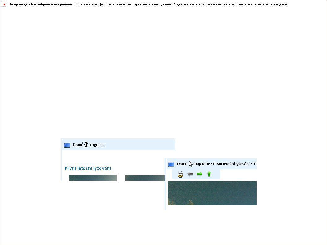 Tomáš Dlouhý – prezentace Y13ANW - http://www.tdsystems.okamzite.eu Fotogalerie Fotogalerie podporuje načtení obsahu jak z databáze tak i jedné určené složky Pokud je zvolena jako zdroj databáze, pak je spravovaná z Administračního Centra