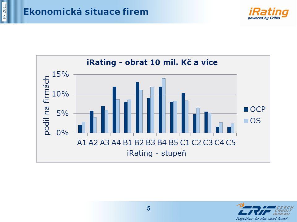 © 2013 Ekonomická situace firem 5
