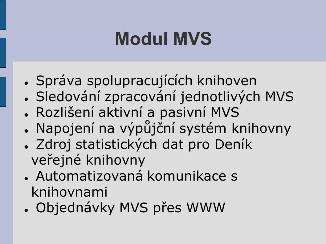 MVS – WWW Objednávka
