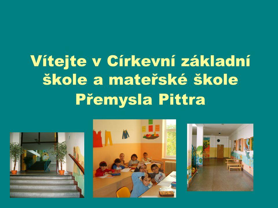 Vítejte v Církevní základní škole a mateřské škole Přemysla Pittra