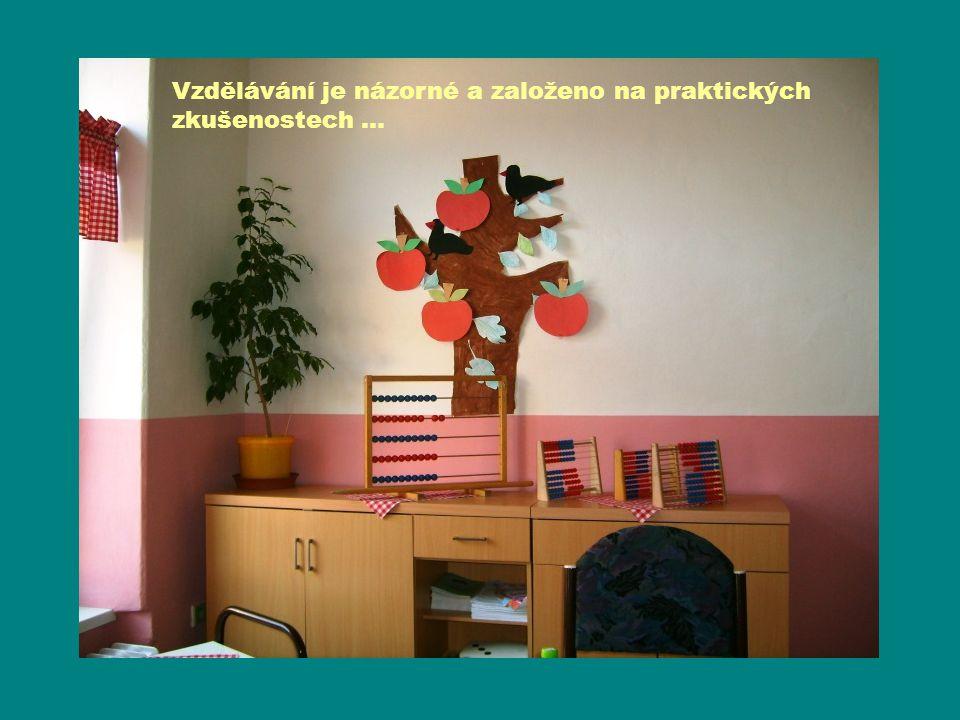 Vzdělávání je názorné a založeno na praktických zkušenostech …