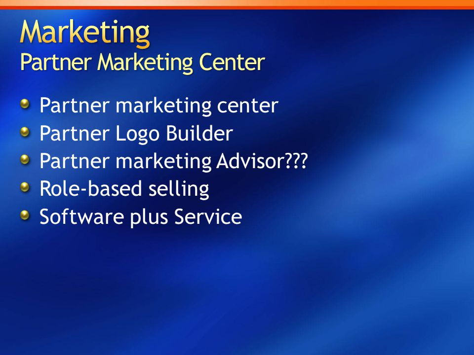 Partner marketing center Partner Logo Builder Partner marketing Advisor??.
