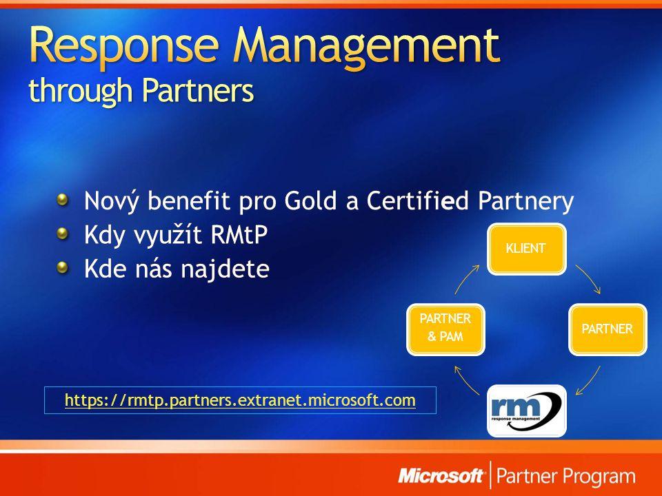 https://rmtp.partners.extranet.microsoft.com KLIENTPARTNER PARTNER & PAM