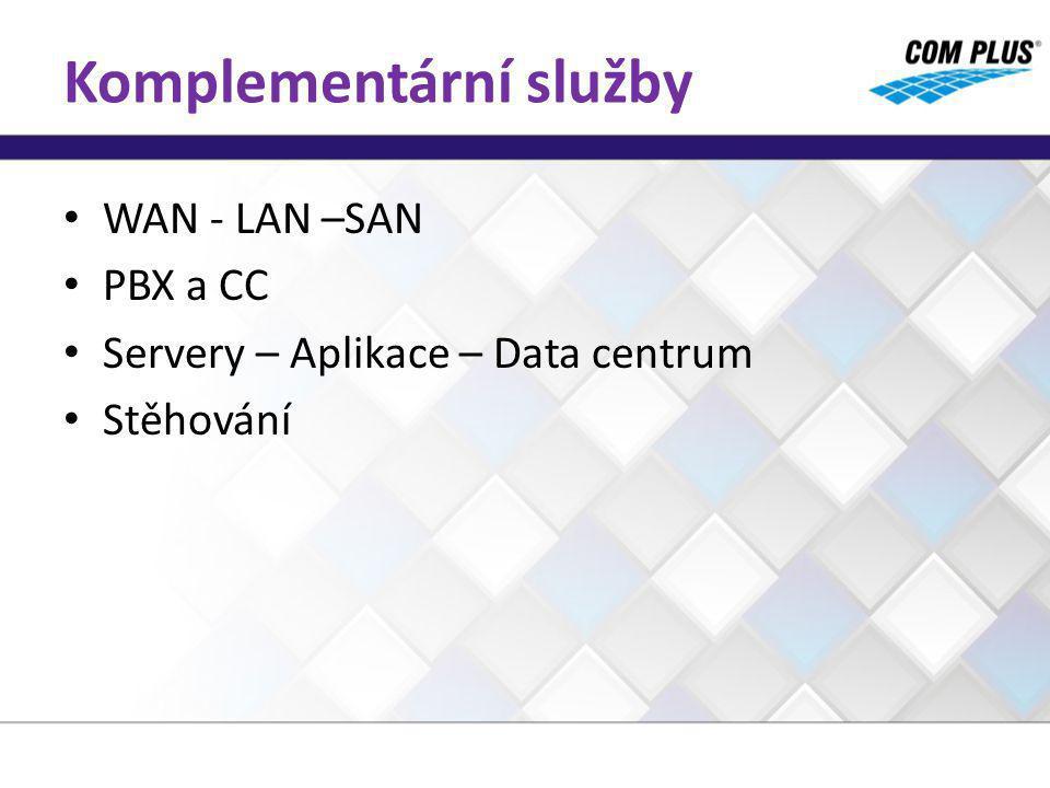 SLA 1 – 2 úrovně Kvantita Kvalita Specifické parametry