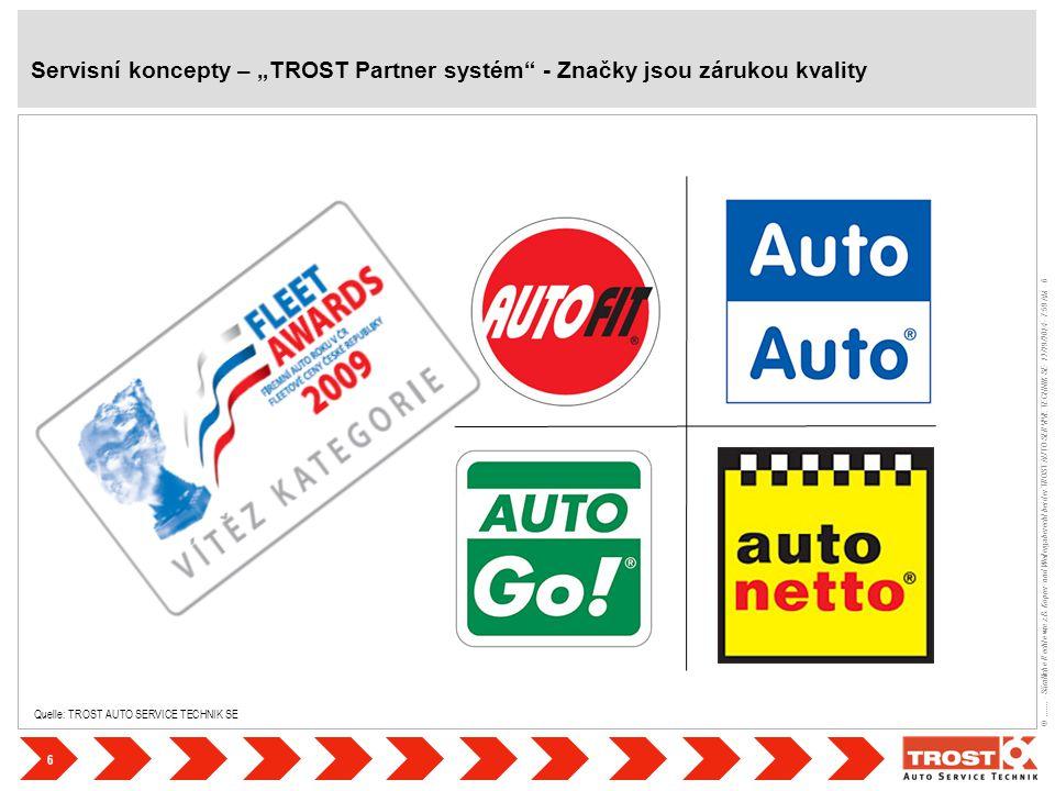 6 ©....... - Sämtliche Rechte wie z.B. Kopier- und Weitergaberecht bei der TROST AUTO SERVIVE TECHNIK SE- 12/19/2014 - 7:59 AM - 6 Quelle: TROST AUTO