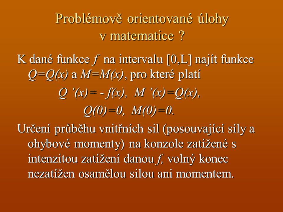 Problémově orientované úlohy v matematice .