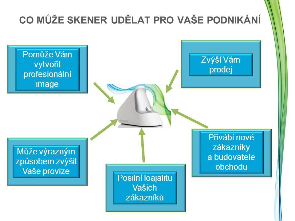 Po skenerové měření www.nuskin.com ->Produkty ->Nákup produktů Nu Skin ->Doplňky Nasměrujte své zákazníky na internetovou stránku: Zjistěte více o produktech certifikovaných pro skener Najděte formulář se zárukou vrácení peněž pod sekcí Skeneru PODPORA NÁSTROJE A PODNIKÁNÍ