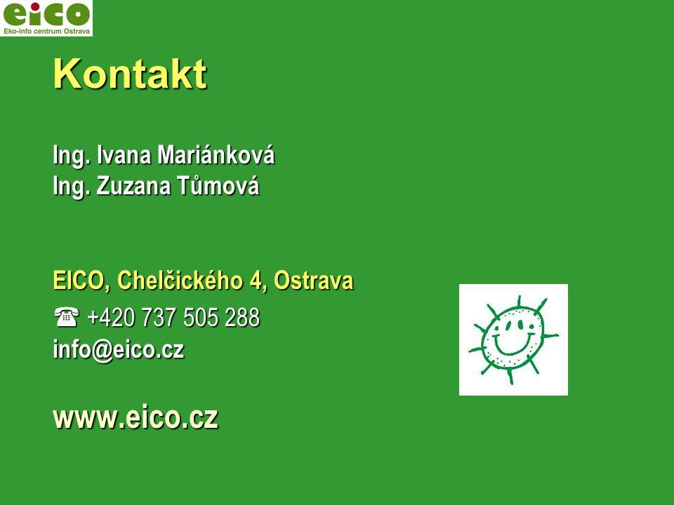 Kontakt Kontakt Ing.Ivana Mariánková Ing.