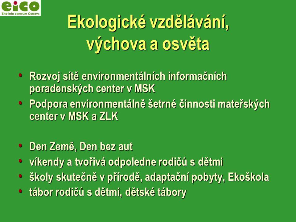 Ekologické vzdělávání, výchova a osvěta