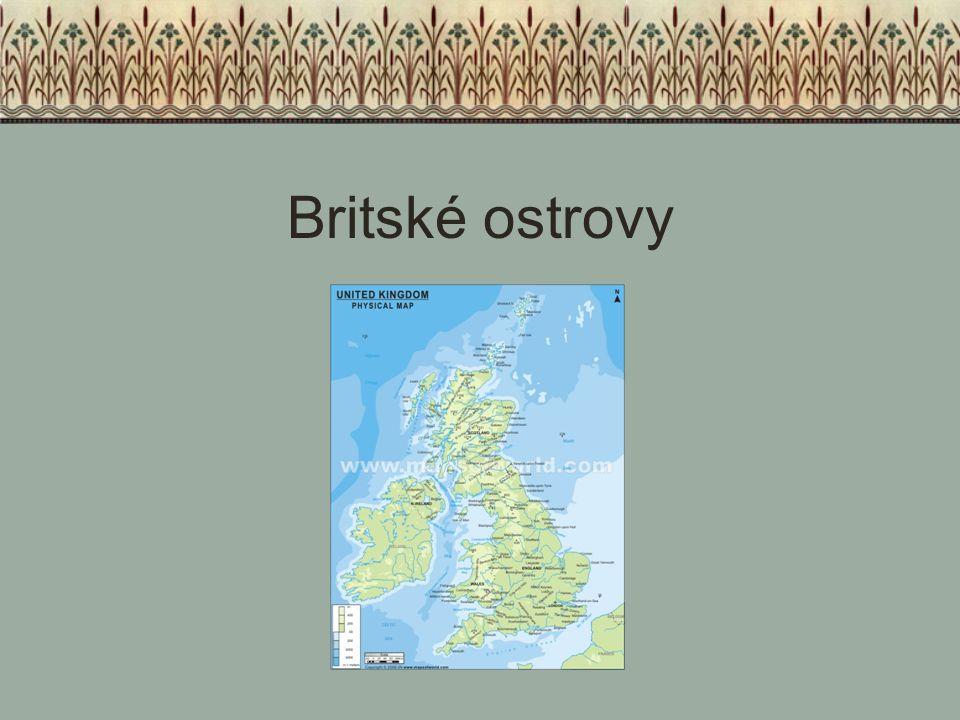 Počátky království Soupeření malých království mezi sebou Ničivé vpády dánských Vikingů Sjednocení anglických království v jedno