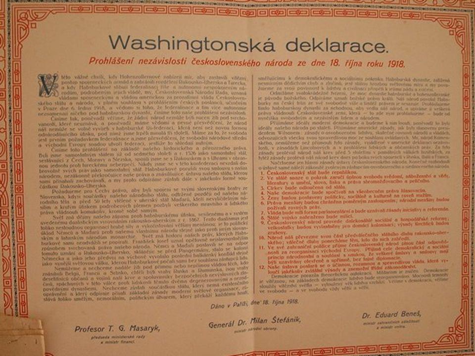 Antonín Švehla František Soukup Alois Rašín Vavro ŠrobárJiří Stříbrný Muži 28. října