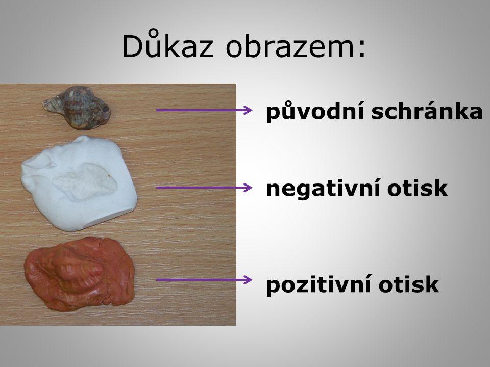 Důkaz obrazem: původní schránka negativní otisk pozitivní otisk