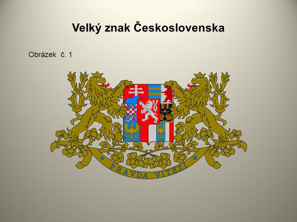 Velký znak Československa Obrázek č. 1