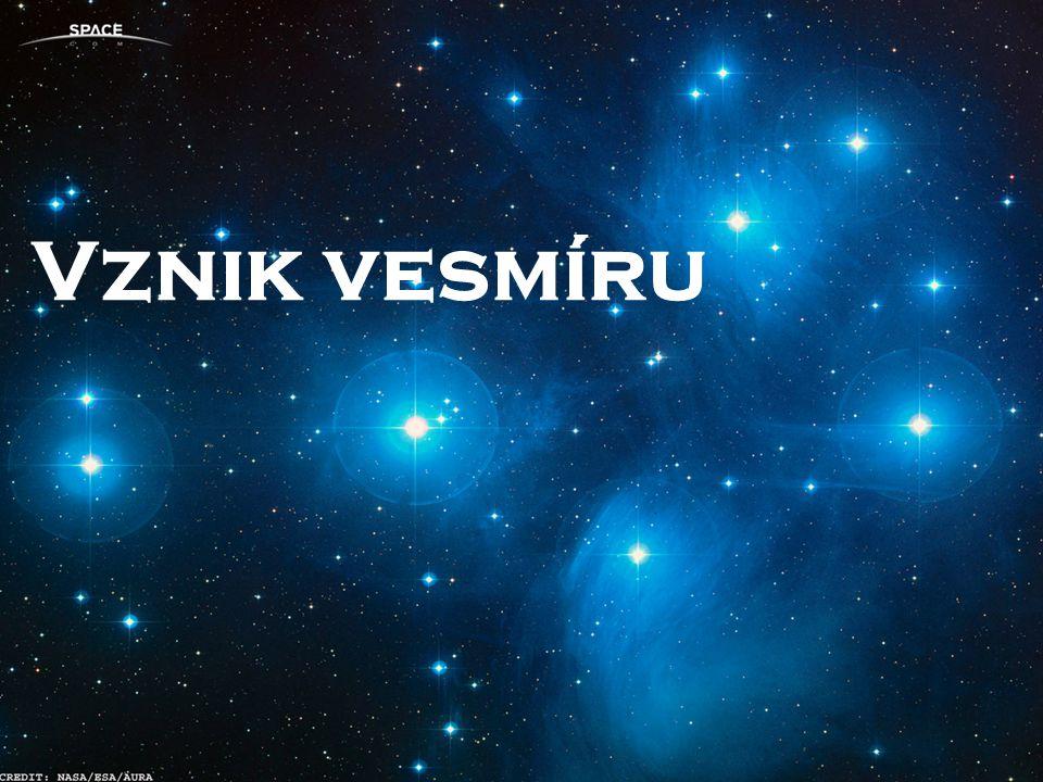 Původně si lidé mysleli, že se vesmír nerozpíná, že neměl žádný počátek, ani konec, že tu byl, je a bude navždy v prakticky nezměněném stavu.