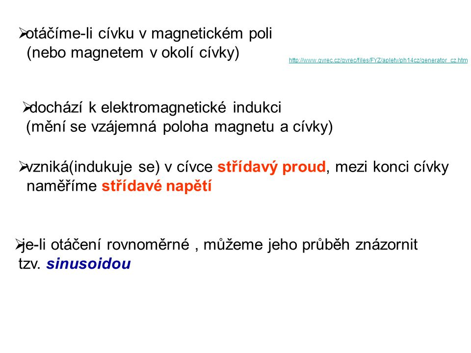 I(A) t(s) ImIm.....maximální hodnota proudu T.....