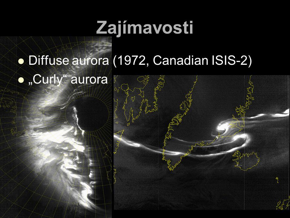 "Zajímavosti Diffuse aurora (1972, Canadian ISIS-2) ""Curly"" aurora"