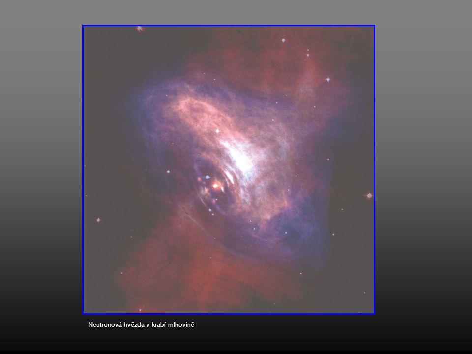 Neutronová hvězda v krabí mlhovině