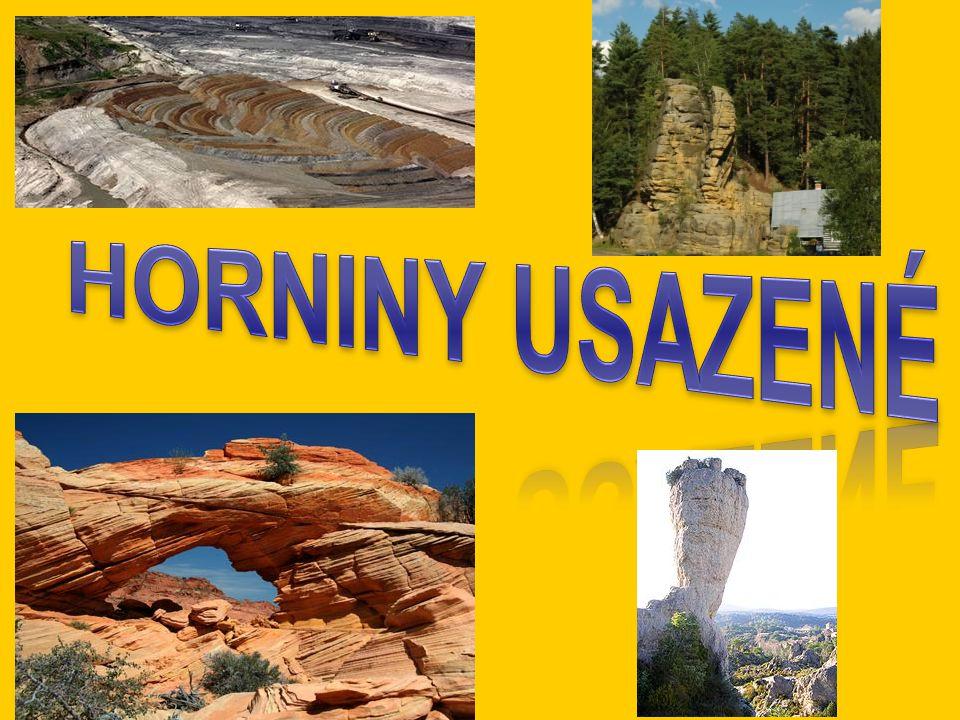 Vznikají činností vnějších geologických činitelů.