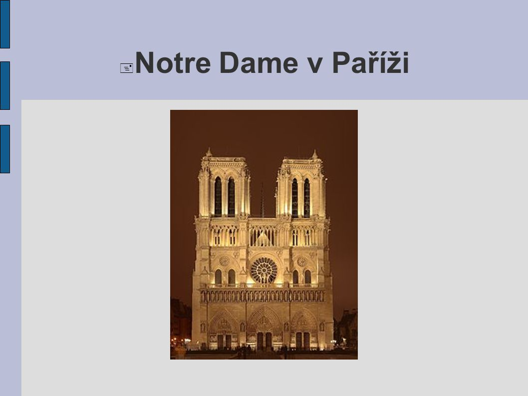  Notre Dame v Paříži