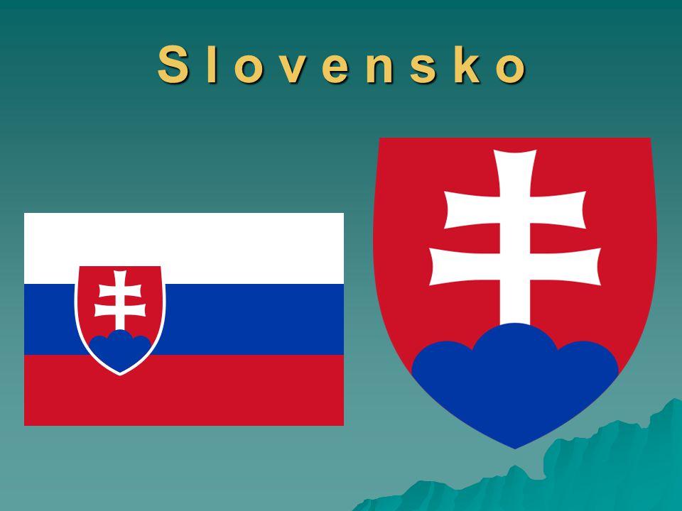 Poloha:  vnitrozemský stát ve střední Evropě  nejsevernější bod– u Babí hory v katastru obce Oravská Polhora  nejjižnější bod – u Patinců  nejzápadnější bod – u Záhorské Vsi  nejvýchodnější bod - u Nové Sedlice  leží na křižovatce cest mezi Baltským, Jaderským, Severním a Černým mořem  Slovensko sousedí s pěti státy - Rakousko(107 km) - Maďarsko (678 km) - Maďarsko (678 km) - Ukrajina (98 km) - Ukrajina (98 km) - Polsko (597 km) - Polsko (597 km) - Česko (240 km) - Česko (240 km)