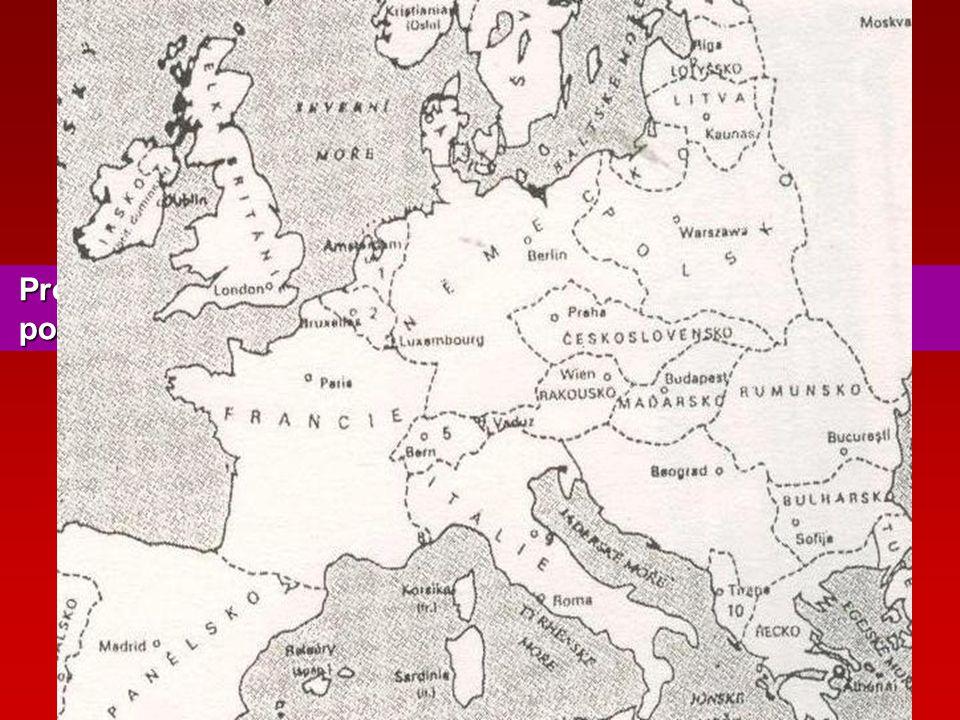 Cesta ke vzniku ČSR 6. ledna 1918 – Tříkrálová deklarace - prohlášení českých poslanců - požadavek autonomie Prostuduj mapu a vybarvi nástupnické stát