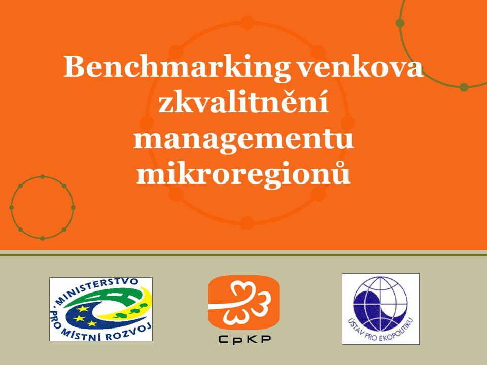 Benchmarking venkova zkvalitnění managementu mikroregionů