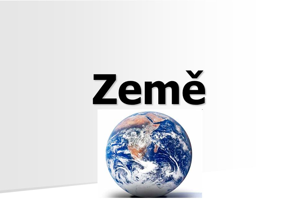 Vnitřní stavba Země - Země se skládá z několika volně navazujících geosfér; liší se od sebe teplotou, tlakem, hustotou a složením, tyto vlastnosti určují rozložení(ovlivňuje především hmotnost látek); geosféry obepínají jádro;