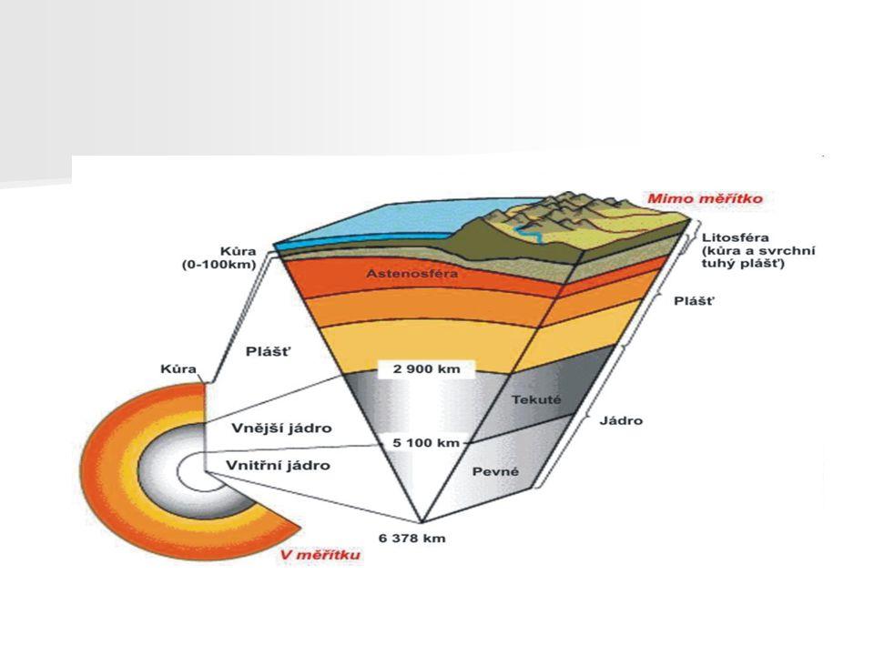 Vznik a vývoj Země - Vznik společně s galaxií asi před 4,6mld let - Zpočátku rozžhavená koule, postupně se Země začala ochlazovat a rovnat - Před 4mld let byla velká sopečná činost, to mělo za následek vznik mraků - Tehdejší atmosféra byla ze sírných plynů a vodní páry(neobsahovala volný kyslík)