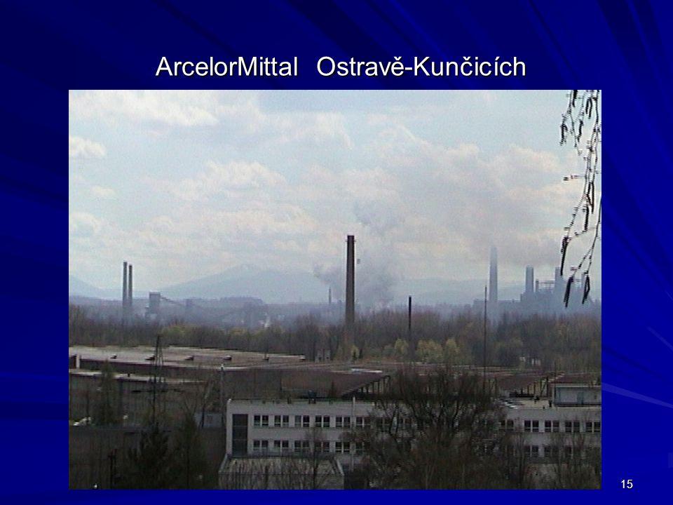 15 ArcelorMittal Ostravě-Kunčicích ArcelorMittal Ostravě-Kunčicích