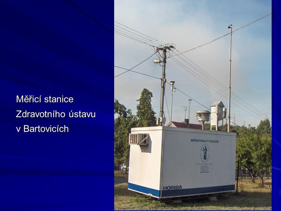 16 Měřicí stanice Zdravotního ústavu v Bartovicích