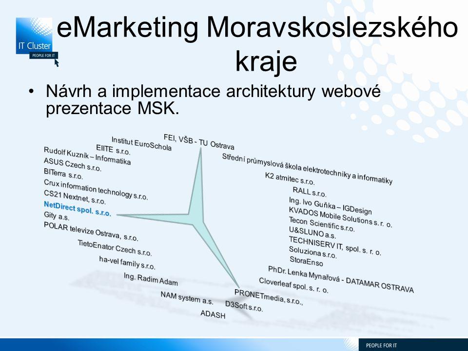 eMarketing Moravskoslezského kraje Návrh a implementace architektury webové prezentace MSK.