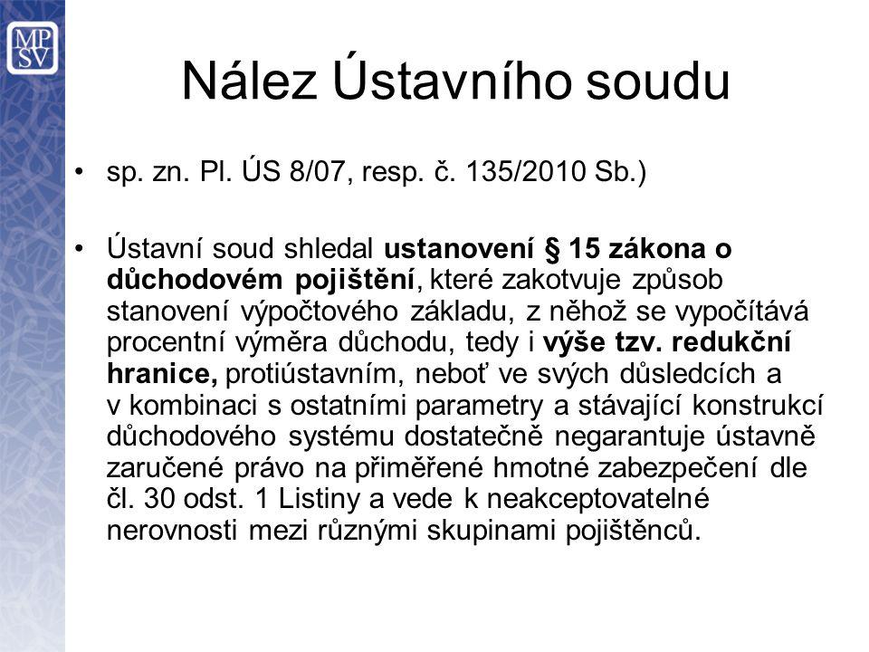 Nález Ústavního soudu sp.zn. Pl. ÚS 8/07, resp. č.