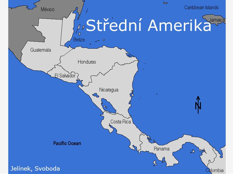 Střední Amerika Jelínek, Svoboda