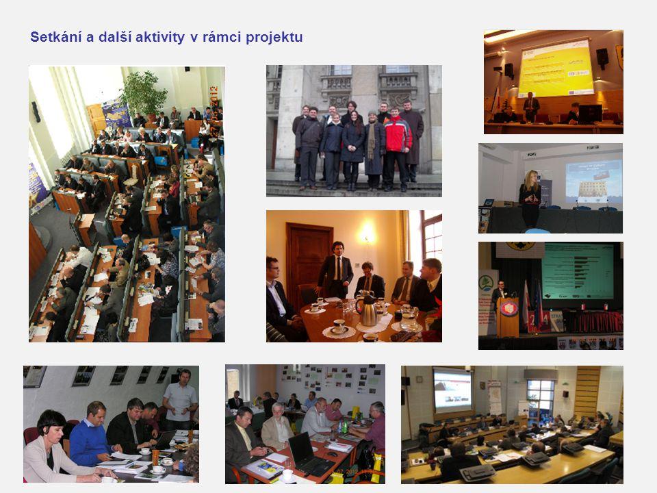 Setkání a další aktivity v rámci projektu