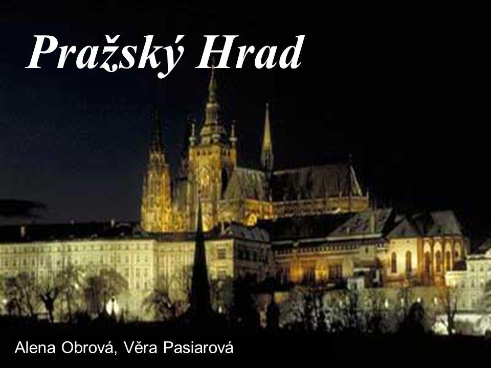 Pražské hradiště – Pražský hrad jediné evropské místo, využívané jako centrum moci po tisíc let nejstarší jméno hradu - dle pís.