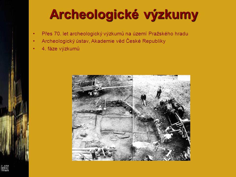 I.fáze – před rokem 1925 archeologické výzkumy 19.