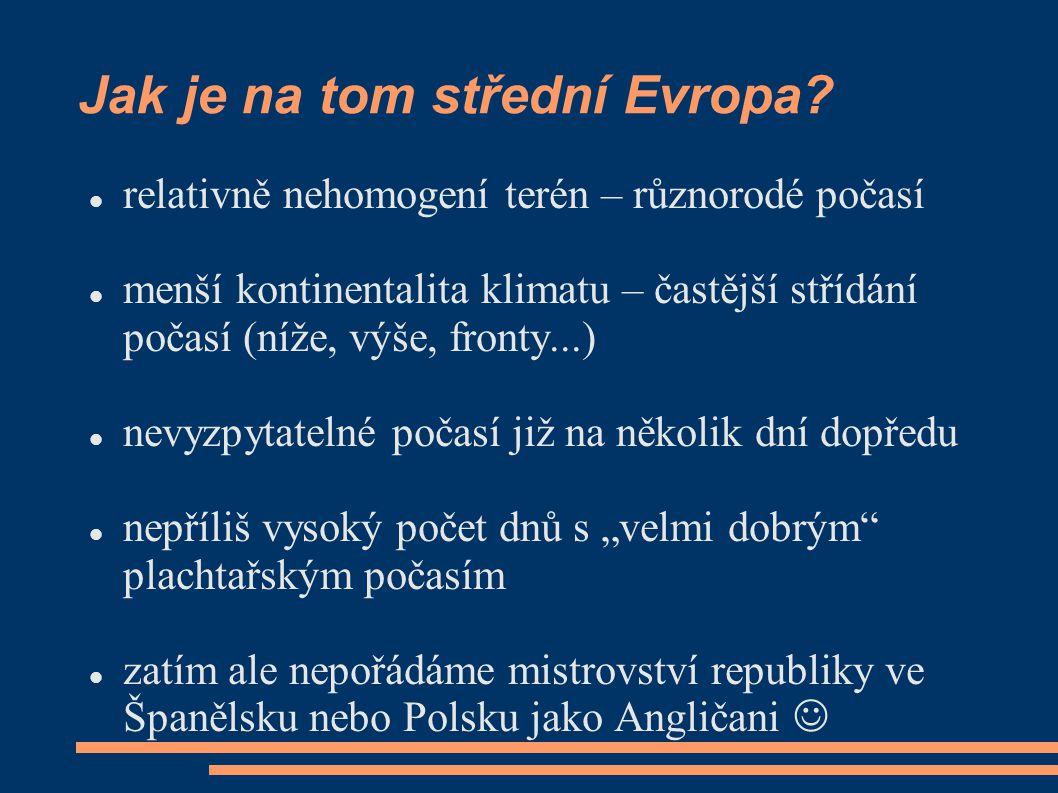 Jak je na tom střední Evropa.