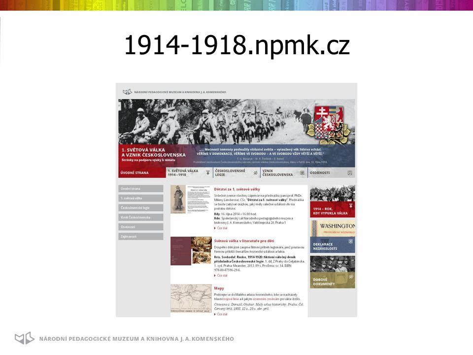 1914-1918.npmk.cz