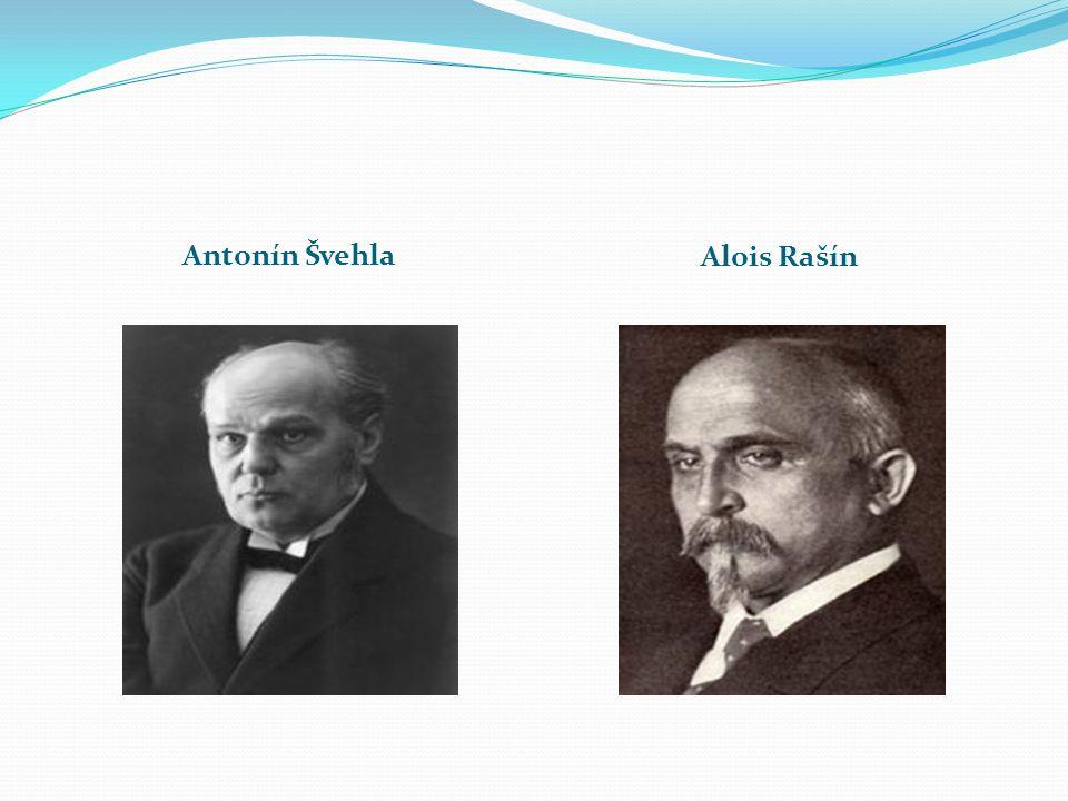 Antonín Švehla Alois Rašín