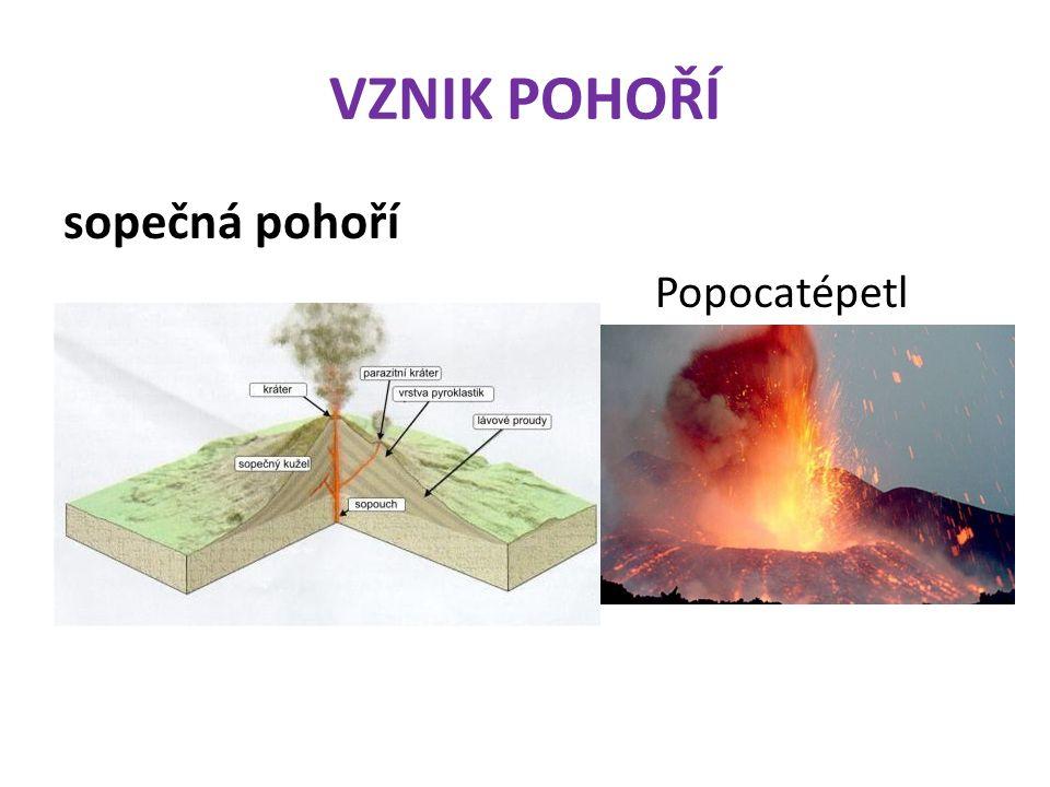 VZNIK POHOŘÍ II.