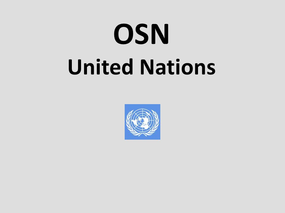 OSN United Nations