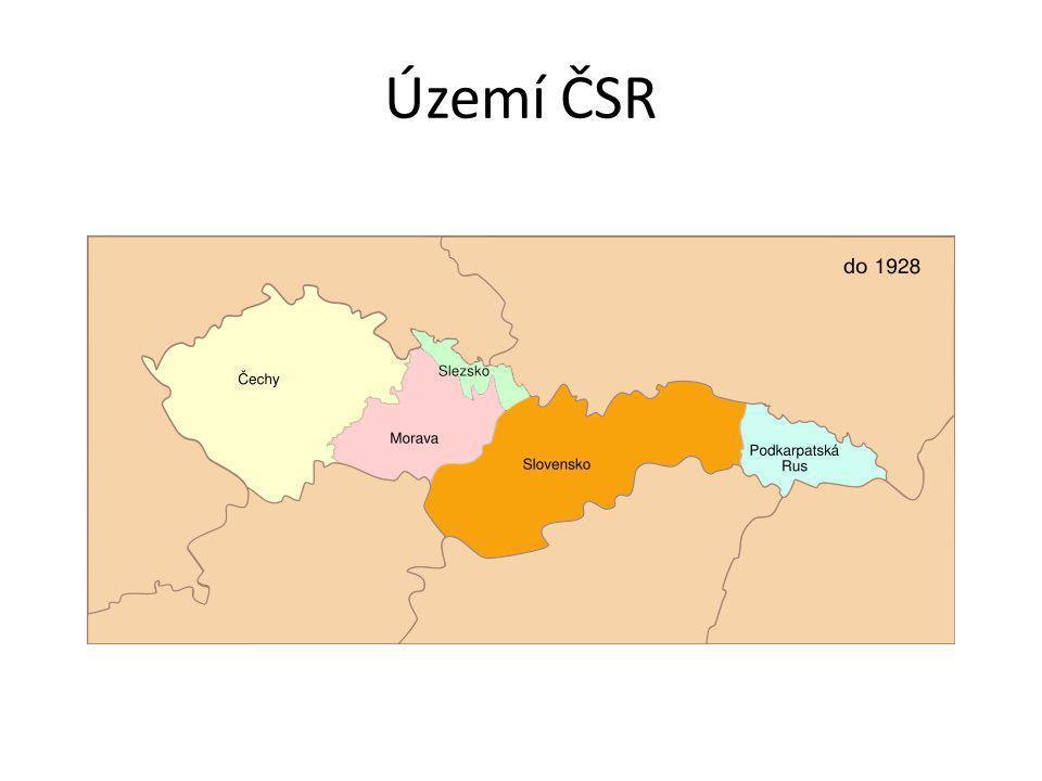 Území ČSR