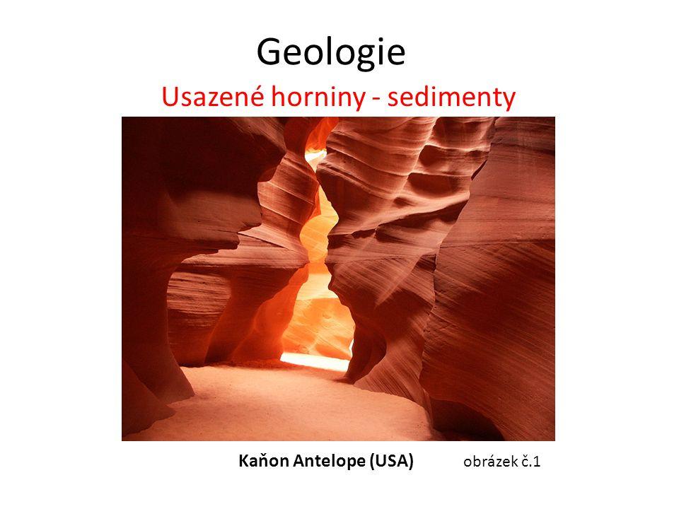 Geologie Usazené horniny - sedimenty Kaňon Antelope (USA) obrázek č.1