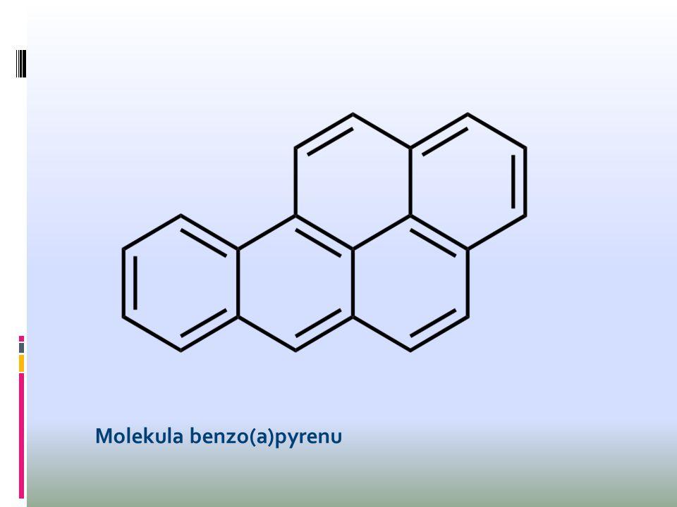 Molekula benzo(a)pyrenu
