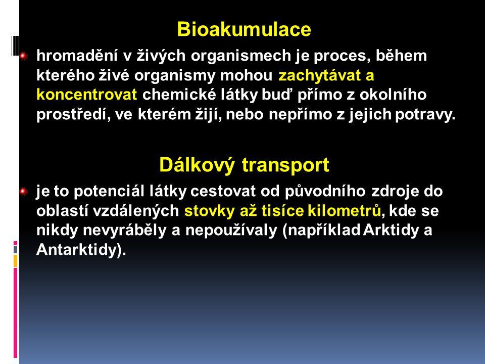 Bioakumulace hromadění v živých organismech je proces, během kterého živé organismy mohou zachytávat a koncentrovat chemické látky buď přímo z okolníh