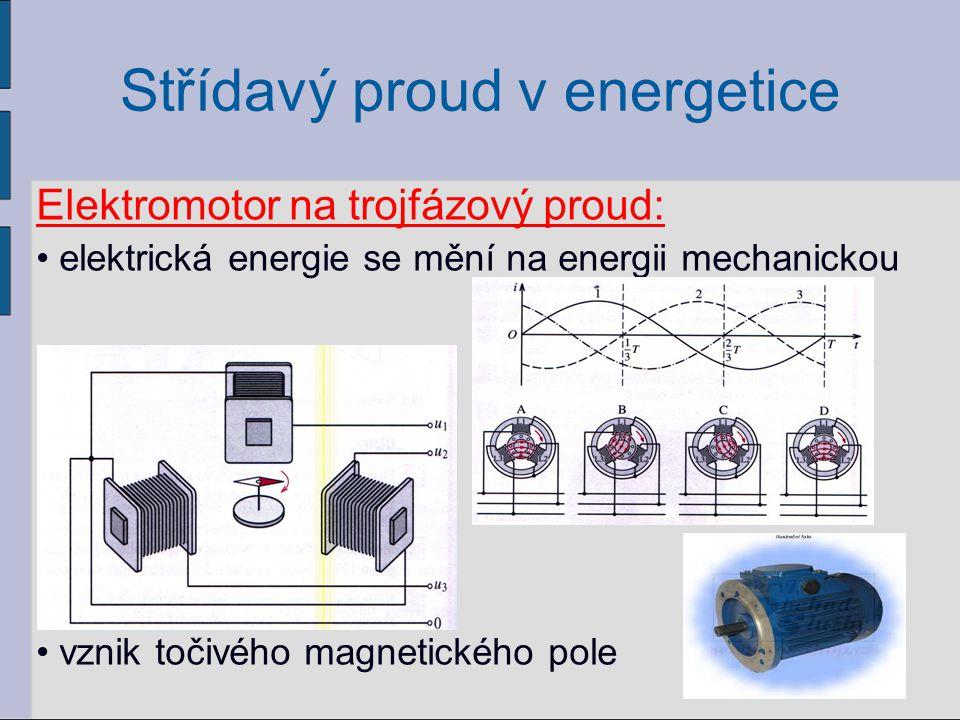 Střídavý proud v energetice Transformátor: = zařízení, které nám umožňuje snižovat nebo zvyšovat napětí v elektrické síti uplatnění především v přenosových soustavách (elektrické rozvody) princip je založen na elektromagnetické indukci 36