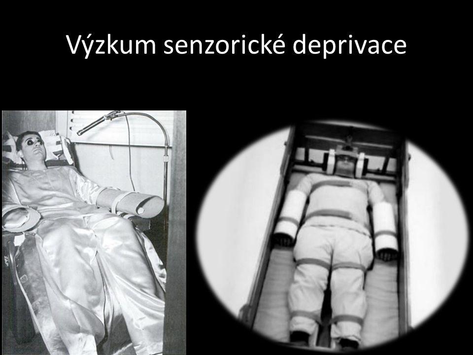 Výzkum senzorické deprivace